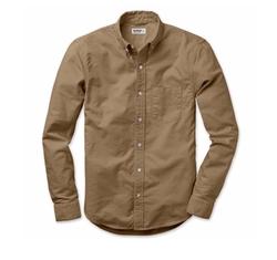 Perfect Oxford Shirt by Buck Mason in Death Wish