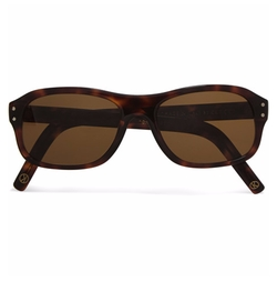 Square-Frame Tortoiseshell Acetate Sunglasses by Cutler And Gross in Kingsman: The Golden Circle