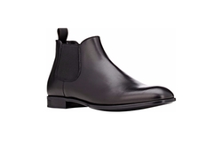Leather Chelsea Boots by Giorgio Armani in Empire