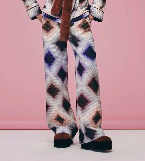 Pre-Fall 2016 Collection Printed Pants by Fendi in Empire - Season 3 Episode 1