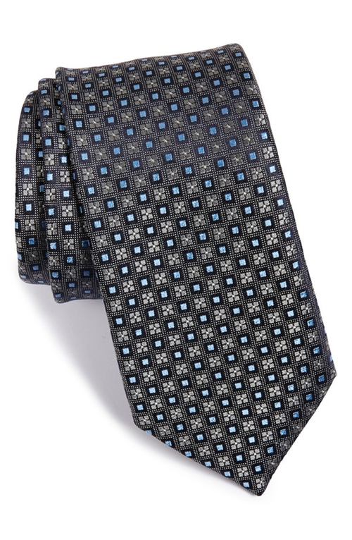 'Bishop Neat' Medallion Silk Tie by John W. Nordstrom in Suits