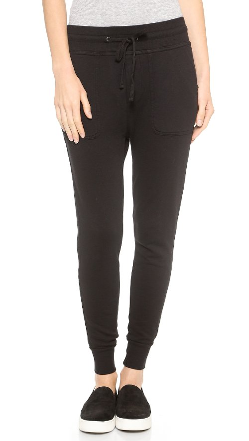 Slouchy Sweatpants by James Perse in If I Stay