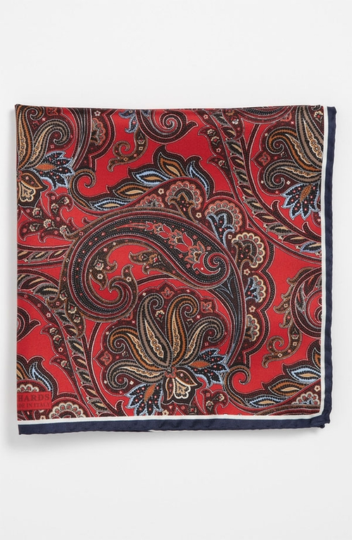 Silk Pocket Square by J.Z. Richards in Ride Along 2