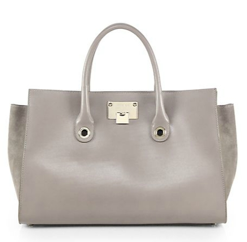 Riley Leather & Suede Tote Bag by Jimmy Choo in Empire - Season 2 Episode 8