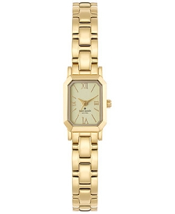 Tiny Hudson Gold-Tone Bracelet Watch by Kate Spade New York in The Second Best Exotic Marigold Hotel