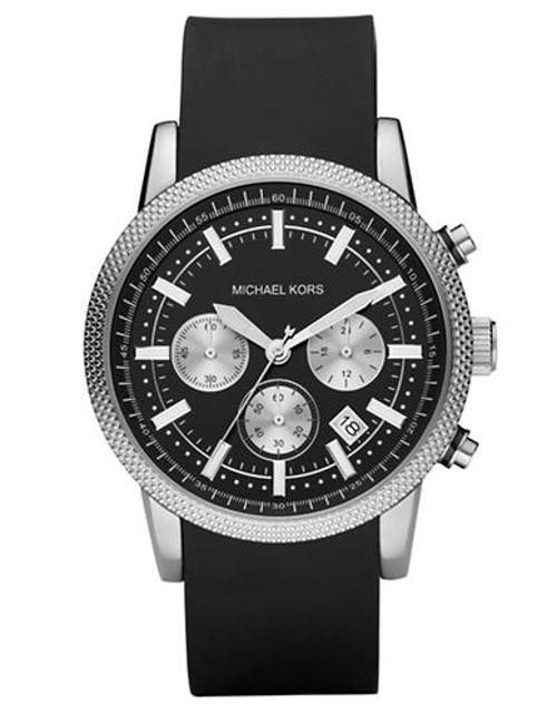 Men's Silicone Chronograph Watch by Michael Kors in The Other Woman