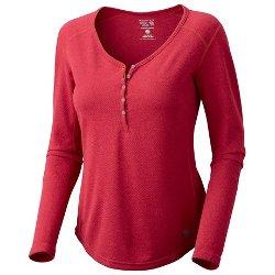 Trekkin Thermal Henley Shirt by Mountain Hardwear in If I Stay