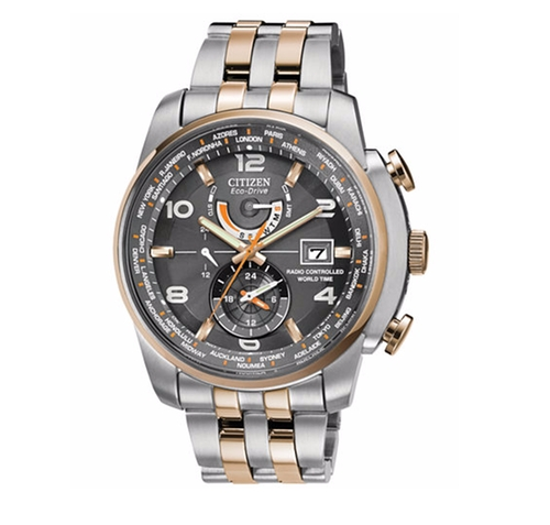 Eco-Drive Two-Tone Stainless Steel Bracelet Watch by Citizen in Ballers - Season 2 Episode 9