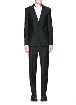 Notch Lapel Wool-Mohair Suit by Givenchy in Confessions of a Shopaholic