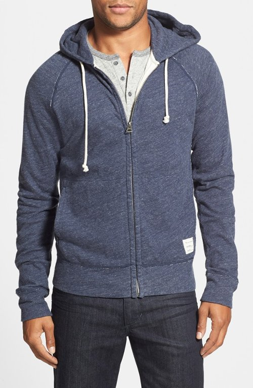 Grey Label Zip Hoodie by Lucky Brand in Crazy, Stupid, Love.