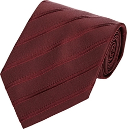 Diagonal-Striped Twill Jacquard Necktie by Armani Collezioni in The Man from U.N.C.L.E.