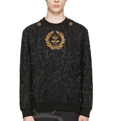 Brocade Bee and Crown Embroidery Pullover by Dolce & Gabbana in Empire - Season 2 Episode 14