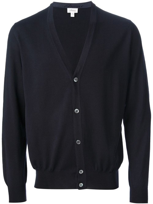 Classic Cardigan Sweater by Brioni in Begin Again