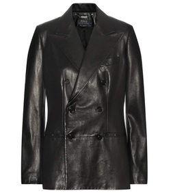 Leather Blazer by Polo Ralph Lauren in The Good Wife