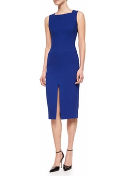 Slit-Front Square-Neck Sheath Dress by Jason Wu in The Good Wife