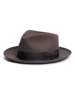 C-Crown Fedora Hat by Brooks Brothers in A Walk in the Woods