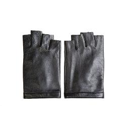 Women's Nappa Leather Soft Suede Leather Fingerless Gloves by Kursheuel in Frank Miller's Sin City: A Dame To Kill For