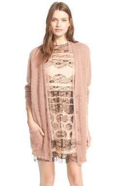 'Maglia' Oversized Button Cardigan by Red Valentino in Empire
