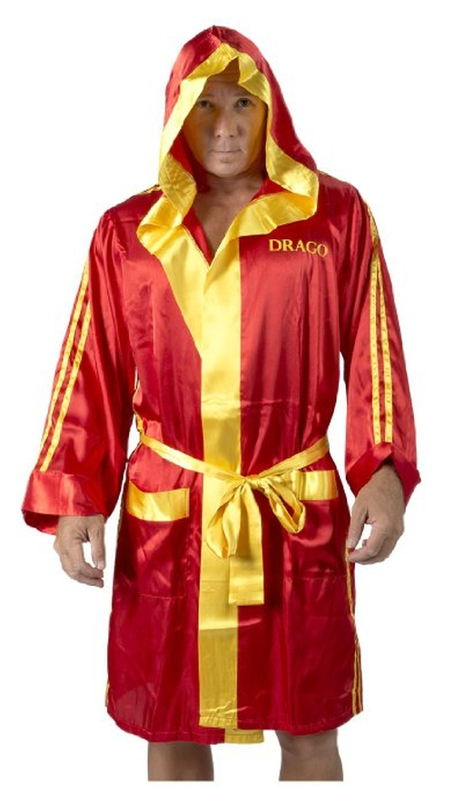 Drago Satin Robe & Boxer Short Set by Robe Factory in Rocky IV