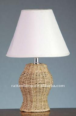 modern craft sea grass designer table lamp by Dongguan Zhengyuan Rattan Products Co., Ltd. in Vampire Academy