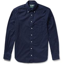 Polka-Dot Cotton-Flannel Shirt by Gitman Vintage in American Horror Story