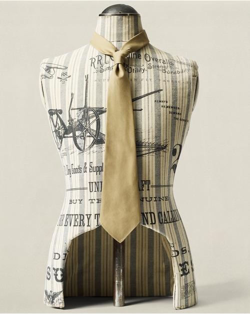 Handmade Chino Tie by Ralph Lauren in Hitman: Agent 47