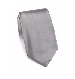 Solid Silk Tie by Armani Collezioni in Suits