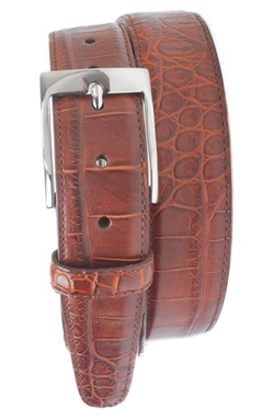 'Wellington' Leather Belt by Martin Dingman in The Living Daylights