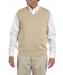 Men's V-Neck Sweater Vest by Devon & Jones in Unbreakable Kimmy Schmidt