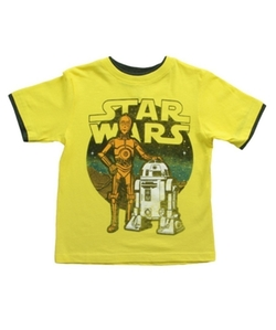 Star Wars C3PO & R2D2 T-Shirt by Off-Brand in The Big Bang Theory