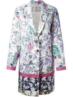 Floral Print Coat by Etro in Miss You Already