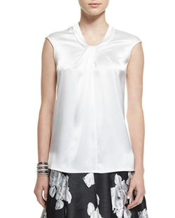 Short-Sleeve Wrap Top by Halston Heritage in Grace and Frankie