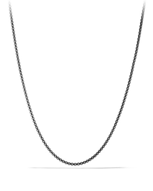 Small Box Chain Necklace by David Yurman in Ballers - Season 1 Episode 6