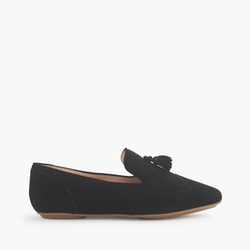 Georgie Suede Tassel Loafers by J.Crew in Scream Queens