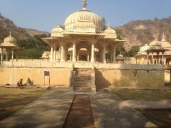 Jaipur, India by Gatore Ki Chhatriyan in The Second Best Exotic Marigold Hotel
