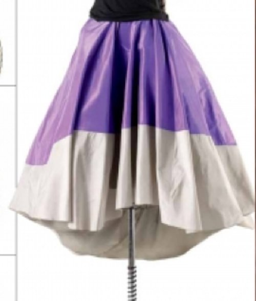 Colorblocked Skirt by Zac Posen in Sex and the City 2