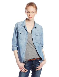 Women's Lauren Denim Shirt by Big Star in Project Almanac
