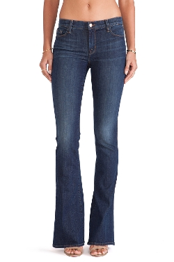 Martini Flare Jean by J Brand in Mean Girls
