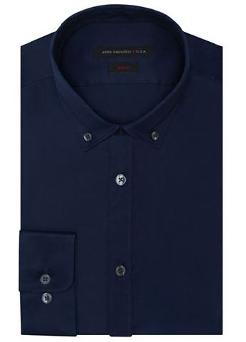Slim Fit Twill Dress Shirt by John Varvatos U.S.A. in The Best of Me