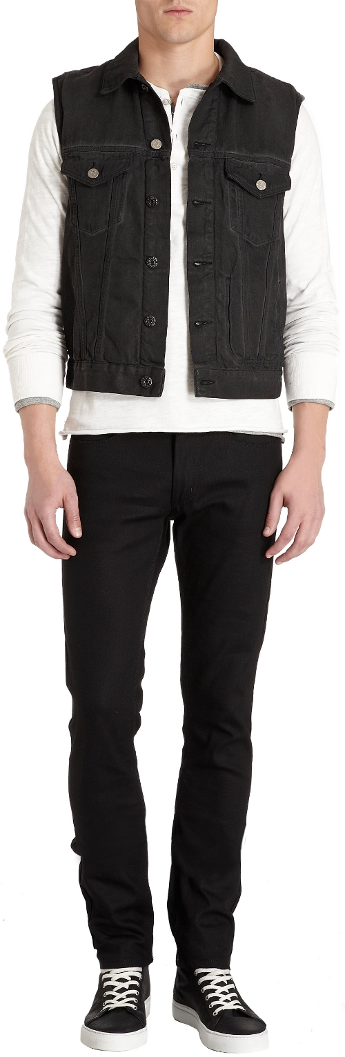Denim Jam Vest by ACNE Studios in The Best of Me