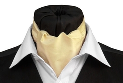 Saffron Silk Day Cravat by Tom Sawyer in On Her Majesty's Secret Service