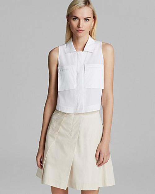 Gemia Luxe Shirt by Theory in The Other Woman