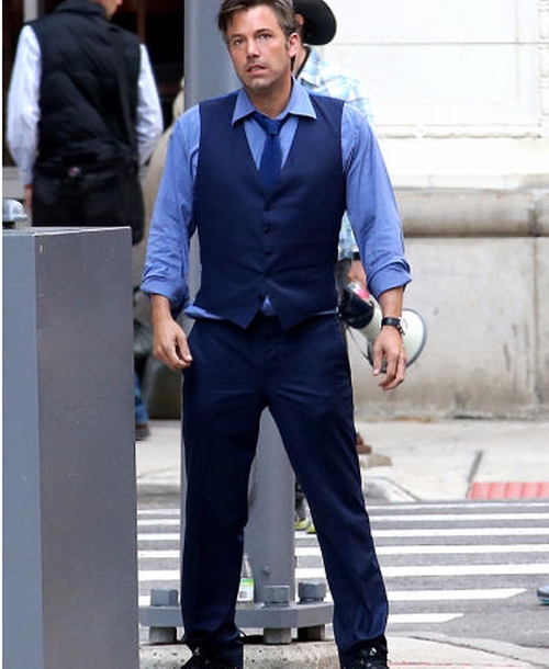 Custom Made Blue Dress Pants by Gucci in Batman v Superman: Dawn of Justice