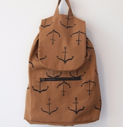 Anchors Backpack by Smoking Lily in Roadies