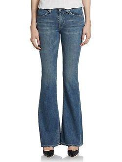 Farrah Bell-Bottom Jeans by AG Adriano Goldschmied in Wild