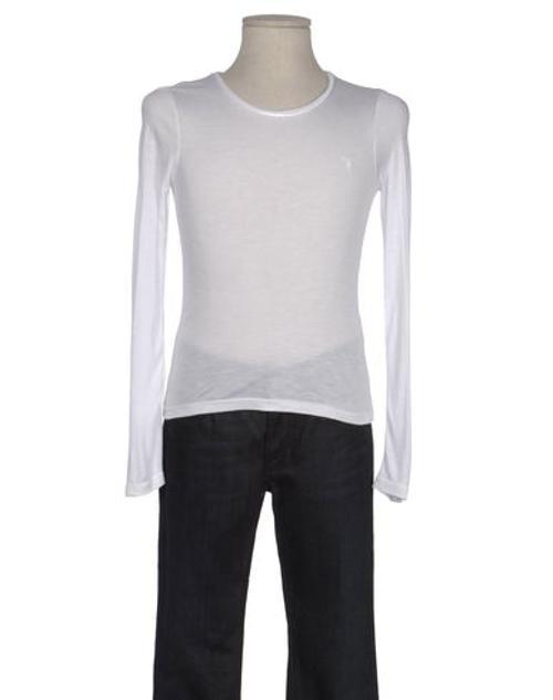 Girl's Long-sleeve T-shirt by Tru Trussardi Junior in Wish I Was Here