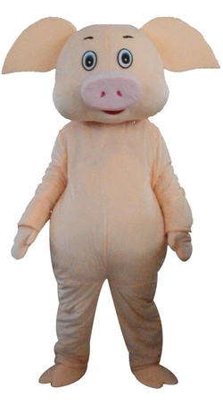 Adult Pig Mascot Costume by Kooplus in The Purge: Election Year