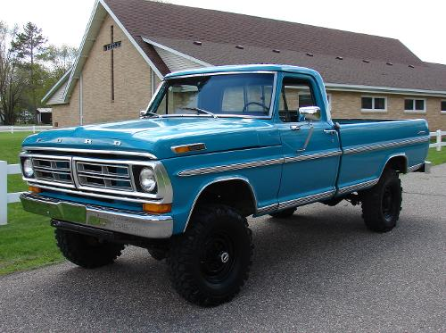 1972 F250 by Ford in Transcendence