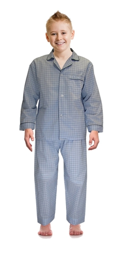 Sleepwear Big Boys Broadcloth Woven Pajama Set by Robes King in Bridge of Spies