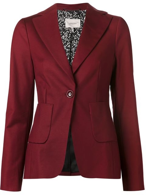 Classic Fitted Blazer by Dorothee Schumacher in The Good Wife - Season 7 Episode 15